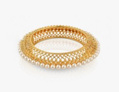 Ethnic Pearl Bangle