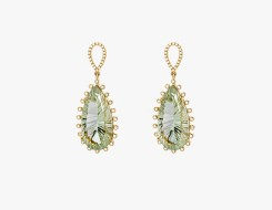 Green Amethyst Ear Drops