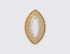Filigree Pearl Pendant