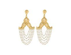 Pearl fishtail drops