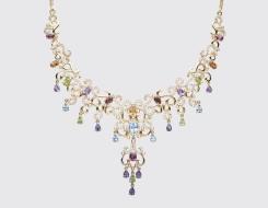 Multicoloured Stone Necklace